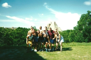 Trip to Mexico in 2001 with some other high school students