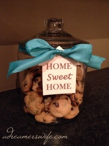 Cookie Jar Housewarming gift