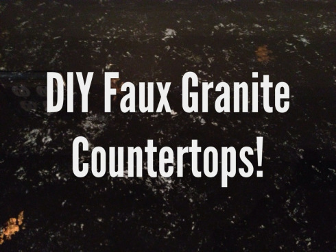 DIY faux granite