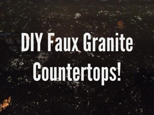 DIY Faux Granite