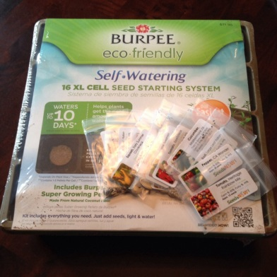 Burpee Self-Waterking Kit and SeedsNow.com seeds