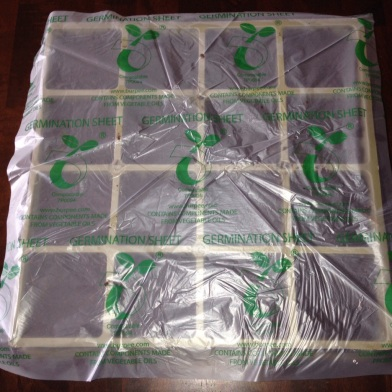 Seed Tray with Germination Sheet