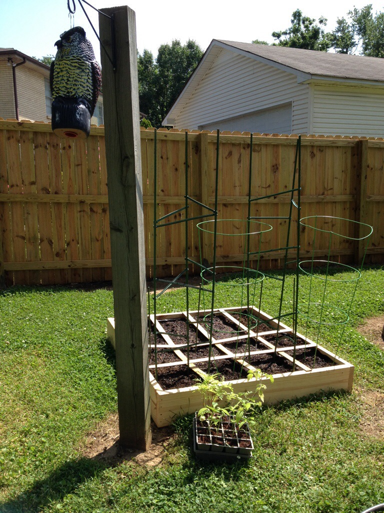 Adventures in Gardening {Part 3: Planting a Square Foot Garden} | A ...